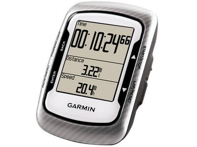 GARMIN Edge 500 with heart rate strap and speed/cadence sensor