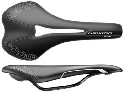 SELLE ITALIA NEKKAR Plus Flow Black (S2)