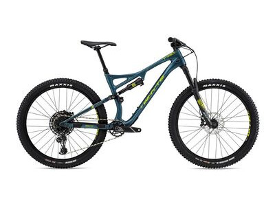 WHYTE T-130 C R Mountain Bike petrol/lime