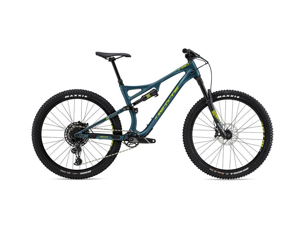 WHYTE T-130 C R Mountain Bike petrol/lime click to zoom image