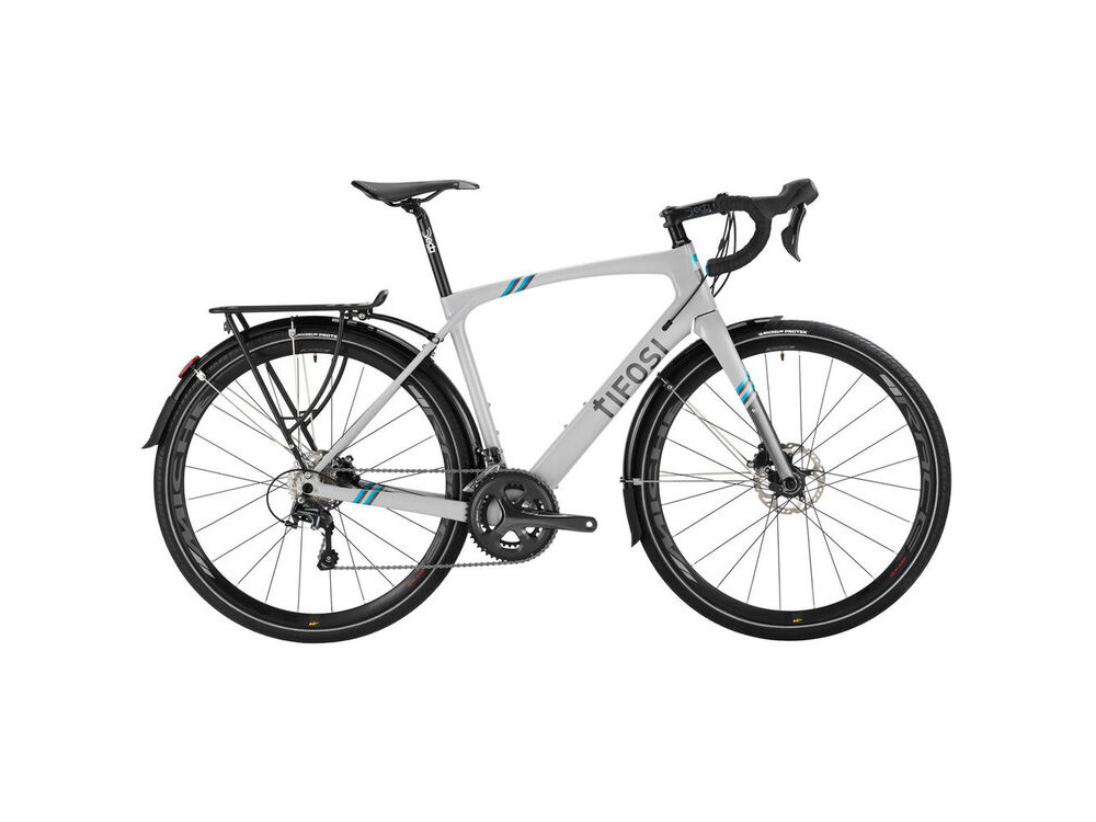 TIFOSI Cavazzo Disc Tiagra Commuter Carbon Touring Bike click to zoom image